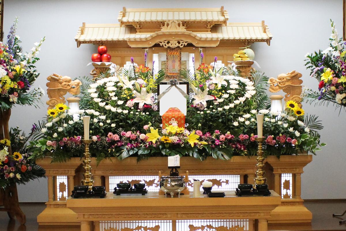熊本でのお葬式なら西原村にしはら葬祭 38万円コース